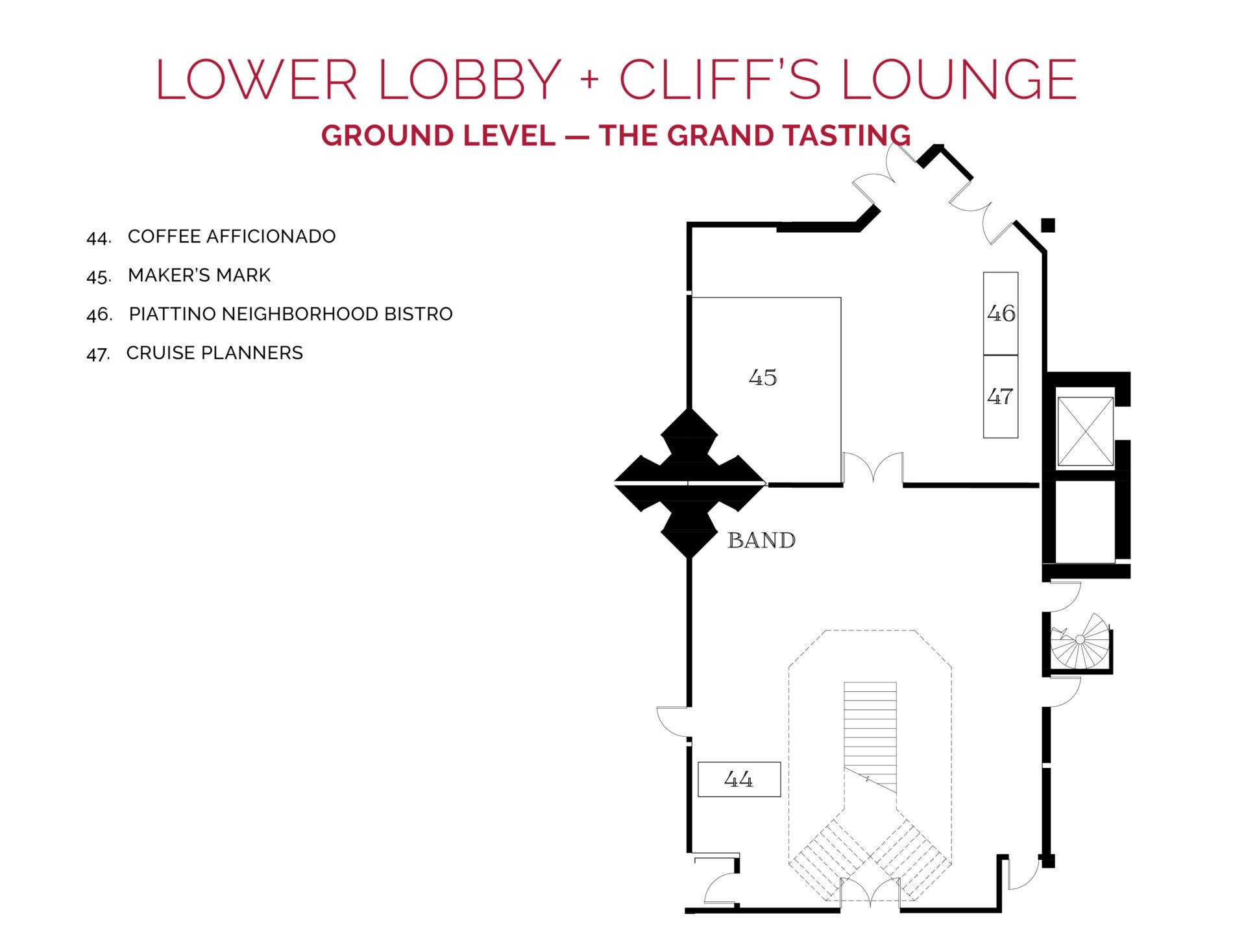 NJWFF Floorplan 2019 Cliffs Lounge