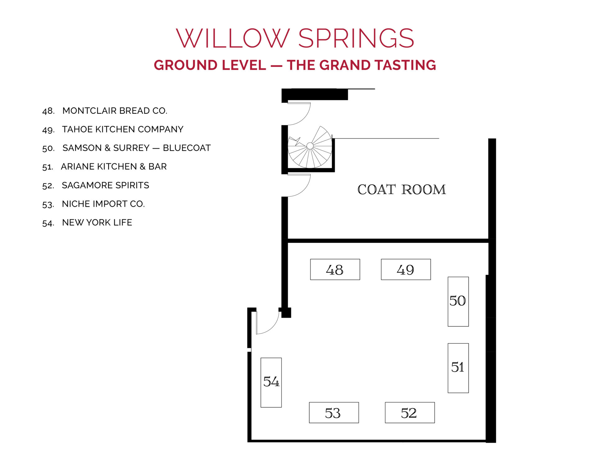 NJWFF Floorplan 2019 Willow Springs